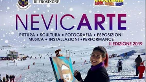 """Guarcino, arte e musica, torna la magia di """"NevicArte"""""""