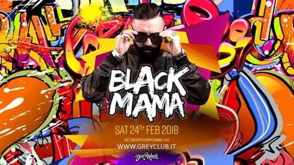 Isola del Liri, Black mama with Don Rafaelo al Grey Club