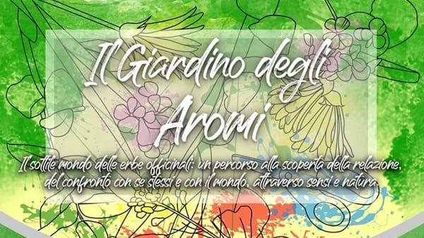 Frosinone, il giardino degli aromi
