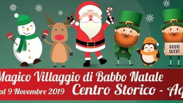 Aquino, il magico villaggio di Babbo Natale