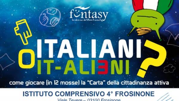 """Frosinone, Roberto Alborghetti presenta """"Italiani o It-alieni?"""""""