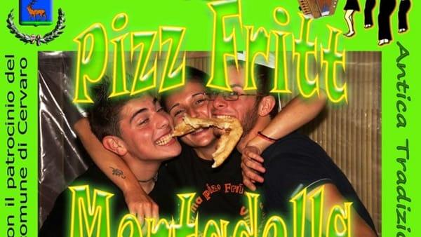 Cervaro, festa della pizza fritta e mortadella