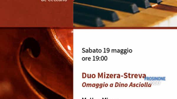 Ceccano, incontri musicali, arriva il duo Mizera-Streva