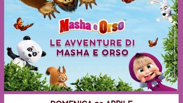 Valmontone, incontra Masha e Orso