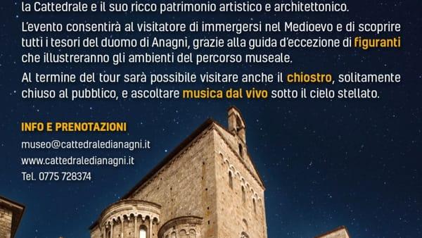 Anagni, apertura straordinaria del Museo Cattedrale