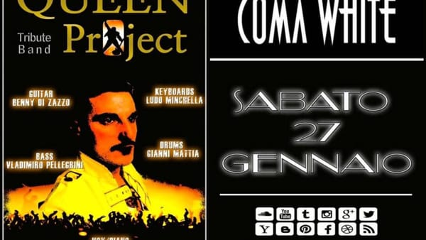Frosinone, i Queen Project live al Coma White