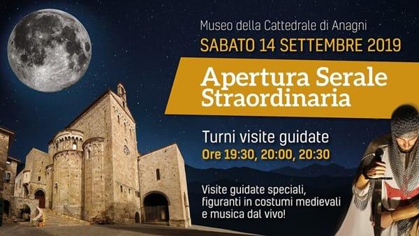 Anagni, apertura serale del Museo della Cattedrale