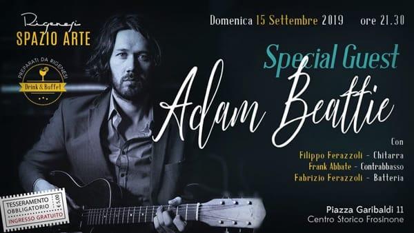 Frosinone, Adam Beattie live
