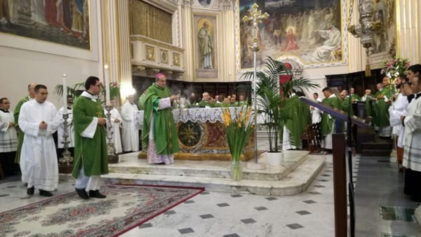 """Palestrina, con l'ultimo """"sorriso"""" Mons. Sigalini ha salutato la Diocesi prenestina"""
