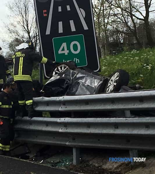 Incidente A1 ceprano2