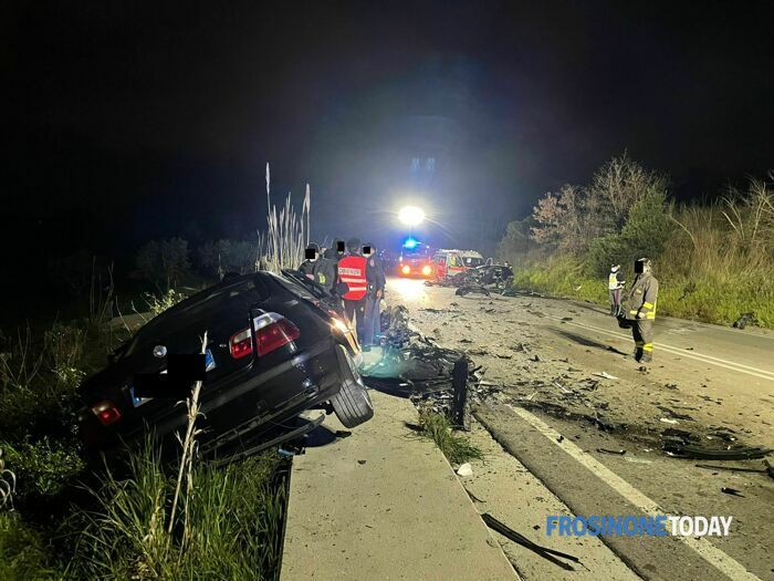 Incidente mortale superstrada Cassino Formia 27 marzo