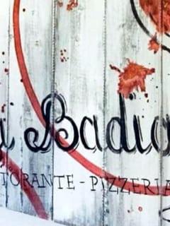 """Ristorante """"La badia"""""""